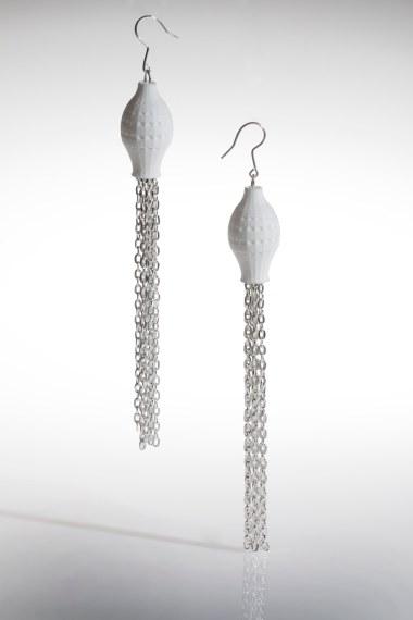 aurelia aurita earrings